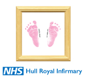 Happy Hands for Baby Footprints on Tiles and other Christening Gifts